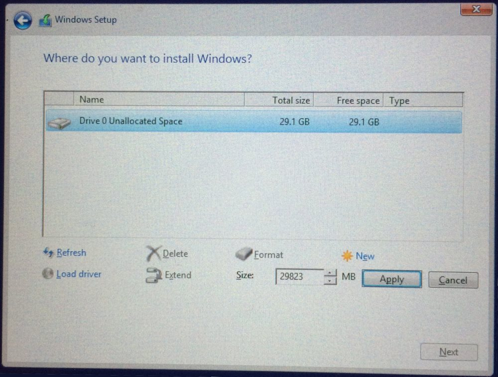 how to install new hdd on win 10 pc